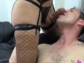 Shy Couple First Time Shemale Experience 2