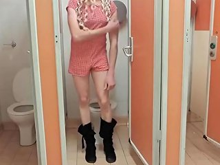 Crossdresser Themidnightminx Public Playsuit Fun Upornia Com
