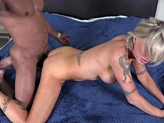 Busty Milf Trans Gets Stretched By Bbc